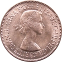 1 Penny 1953, KM# 883, United Kingdom (Great Britain), Elizabeth II