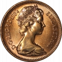 1 Penny 1982-1984, KM# 927, United Kingdom (Great Britain), Elizabeth II