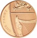 1 Penny 2008-2015, KM# 1107, United Kingdom (Great Britain), Elizabeth II