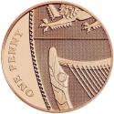 1 Penny 2015-2017, Sp# B7, United Kingdom (Great Britain), Elizabeth II