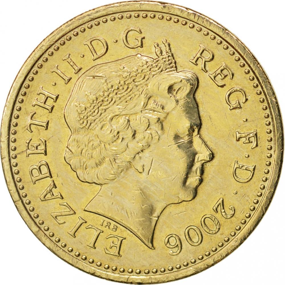 1 Pound United Kingdom (Great Britain) 2006, KM# 1059