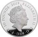 10 Pounds 2019, United Kingdom (Great Britain), Elizabeth II, 200th Anniversary of Birth of Queen Victoria