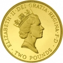 2 Pounds 1989, KM# 961, United Kingdom (Great Britain), Elizabeth II, 300th Anniversary of the Claim of Right