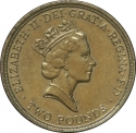 2 Pounds 1995, KM# 970, United Kingdom (Great Britain), Elizabeth II, 50th Anniversary of WWII End