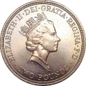 2 Pounds 1995, KM# 971, United Kingdom (Great Britain), Elizabeth II, 50th Anniversary of the United Nations