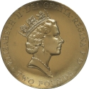 2 Pounds 1996, KM# 973, United Kingdom (Great Britain), Elizabeth II, 1996 Football (Soccer) Euro Cup in England