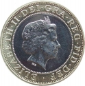 2 Pounds 2005, KM# 1056, United Kingdom (Great Britain), Elizabeth II, 60th Anniversary of WWII Victory