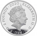 2 Pounds 2020, United Kingdom (Great Britain), Elizabeth II, Music Legends, Elton John