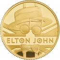 25 Pounds 2020, United Kingdom (Great Britain), Elizabeth II, Music Legends, Elton John