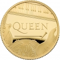 25 Pounds 2020, United Kingdom (Great Britain), Elizabeth II, Music Legends, Queen
