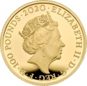 100 Pounds 2020, United Kingdom (Great Britain), Elizabeth II, Music Legends, Queen
