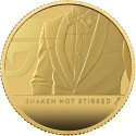 25 Pounds 2020, United Kingdom (Great Britain), Elizabeth II, James Bond, Shaken, Not Stirred