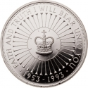 5 Pounds 1993, KM# 965a, United Kingdom (Great Britain), Elizabeth II, 40th Anniversary of Coronation of Elizabeth II