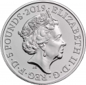 5 Pounds 2019, United Kingdom (Great Britain), Elizabeth II, 200th Anniversary of Birth of Queen Victoria