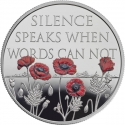5 Pounds 2017, United Kingdom (Great Britain), Elizabeth II, Remembrance Day
