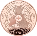 5 Pounds 2020, United Kingdom (Great Britain), Elizabeth II, 150th Anniversary of the British Red Cross