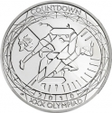 5 Pounds 2010, KM# 1139, United Kingdom (Great Britain), Elizabeth II, London 2012 Summer Olympics Countdown, 2 Years To Go, Athletics