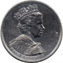 5 Pounds 2002, KM# 1024, United Kingdom (Great Britain), Elizabeth II, 50th Anniversary of the Accession of Elizabeth II to the Throne, Golden Jubilee