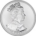 5 Pounds 2002, KM# 1024a, United Kingdom (Great Britain), Elizabeth II, 50th Anniversary of the Accession of Elizabeth II to the Throne, Golden Jubilee
