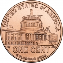 1 Cent 2009, KM# 444, United States of America (USA), Lincoln Bicentennial One Cent Program, Presidency in Washington
