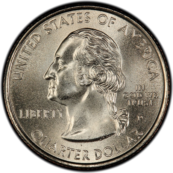 25 Cents (Quarter) United States of America (USA) 1999, KM ...
