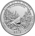 25 Cents 2019, United States of America (USA), America the Beautiful Quarters Program, Idaho, Frank Church River of No Return Wilderness