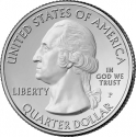 25 Cents 2013, KM# 545, United States of America (USA), America the Beautiful Quarters Program, Maryland, Fort McHenry