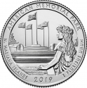 25 Cents 2019, United States of America (USA), America the Beautiful Quarters Program, Northern Mariana Islands, American Memorial Park