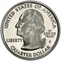 25 Cents 2007, KM# 400a, United States of America (USA), 50 State Quarters Program, Utah