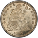 5 Cents 1856-1859, KM# A62.2, United States of America (USA)