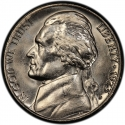 5 Cents 1946-2003, KM# A192, United States of America (USA)