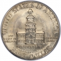 1/2 Dollar 1976, KM# 205, United States of America (USA), United States Bicentennial