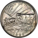 1/2 Dollar 1926-1939, KM# 159, United States of America (USA), Oregon Trail Memorial