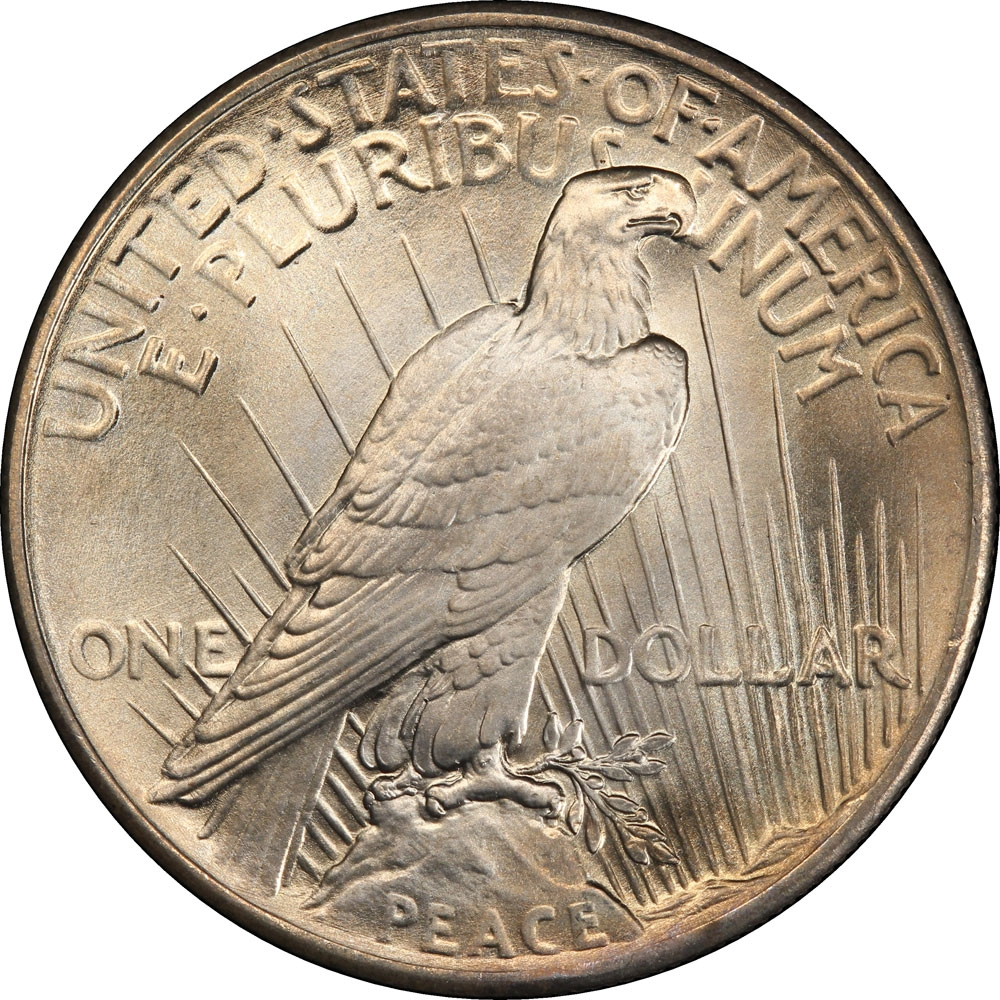 1 Dollar United States Of America Usa 1921 1935 Km 150