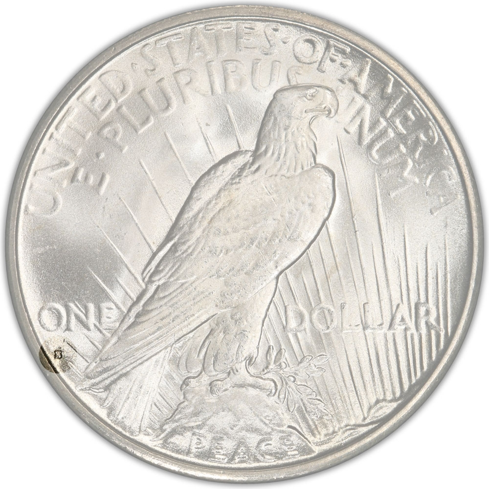 1 Dollar United States Of America Usa 1921 1935 Km 150