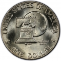 1 Dollar 1976, KM# 206, United States of America (USA), United States Bicentennial