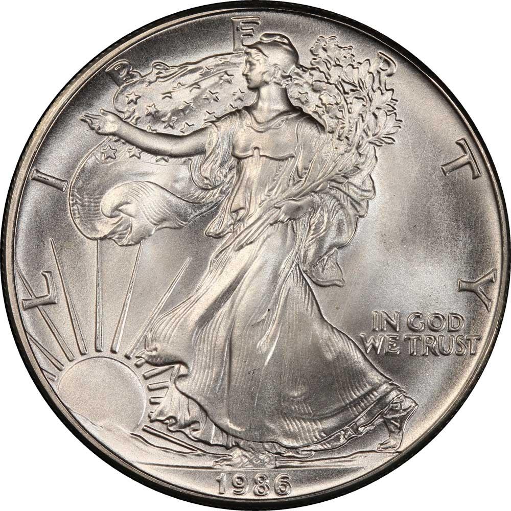 1 Dollar United States Of America Usa 1986 2018 Km 273
