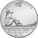 1 Dollar 2017, United States of America (USA), Boys Town Centennial