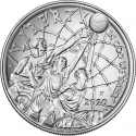 1 Dollar 2020, United States of America (USA), Basketball Hall of Fame
