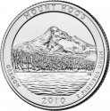 25 Cents 2010, KM# 473, United States of America (USA), America the Beautiful Quarters Program, Oregon, Mount Hood National Forest