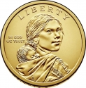 1 Dollar 2019, United States of America (USA), Native American $1 Coin Program, American Indians in the Space Program