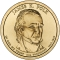 1 Dollar 2009, KM# 452, United States of America (USA), Presidential $1 Coin Program, James K. Polk