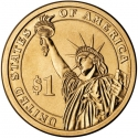 1 Dollar 2007, KM# 402, United States of America (USA), Presidential $1 Coin Program, John Adams