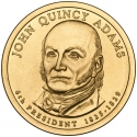 1 Dollar 2008, KM# 427, United States of America (USA), Presidential $1 Coin Program, John Quincy Adams