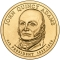 1 Dollar 2008, KM# 427, United States of America (USA), Presidential $1 Coin Program, John Quincy Adams, Obverse