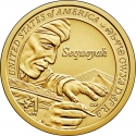1 Dollar 2017, KM# 640, United States of America (USA), Native American $1 Coin Program, Sequoyah