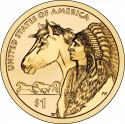 1 Dollar 2012, KM# 528, United States of America (USA), Native American $1 Coin Program, Trade Routes