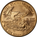 10 Dollars 1986-2018, KM# 217, United States of America (USA), American Eagles, Gold Eagles