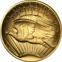 20 Dollars 2009, KM# 464, United States of America (USA), American Eagles, Ultra High Relief Double Eagles