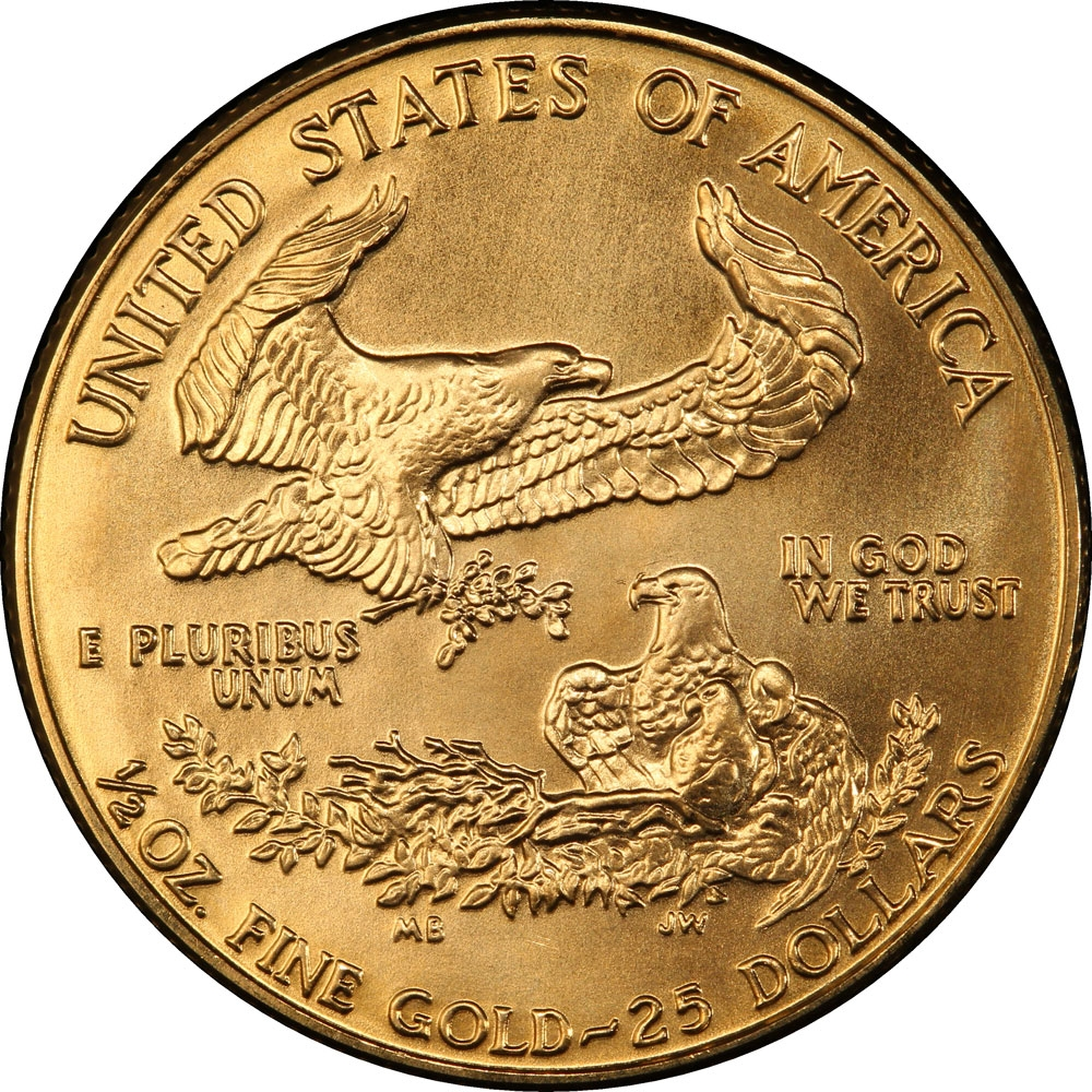 25 Dollars 1986-2018, KM# 218, United States of America (USA), American Eagles, Gold Eagles